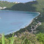 Magens Bay below