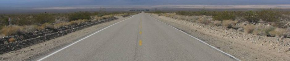No one on this road