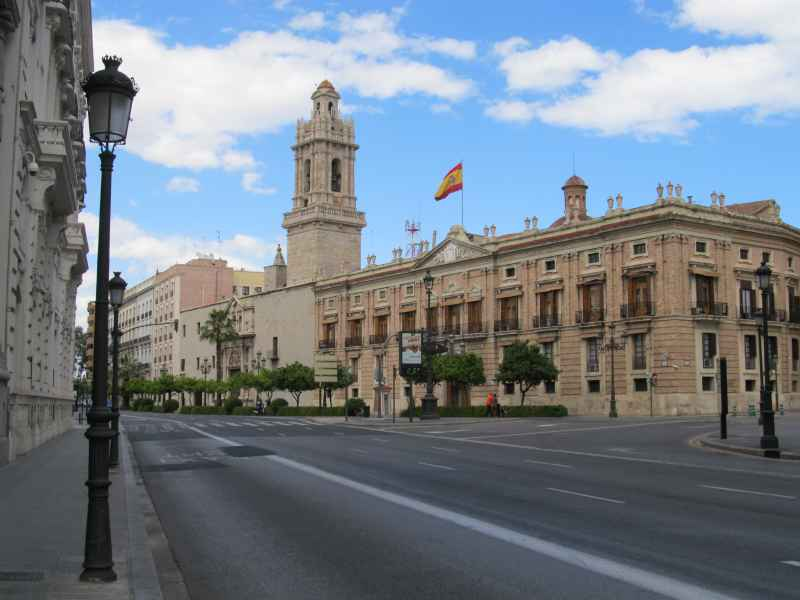 Government Building and no traffic
