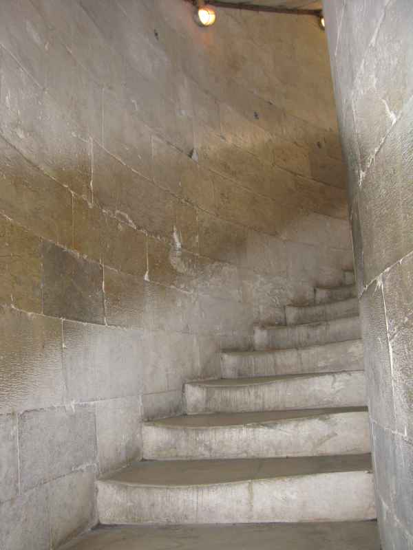 the 280+ stairs to the top