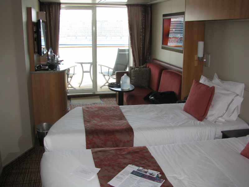 Our cabin 8139 for the cruise