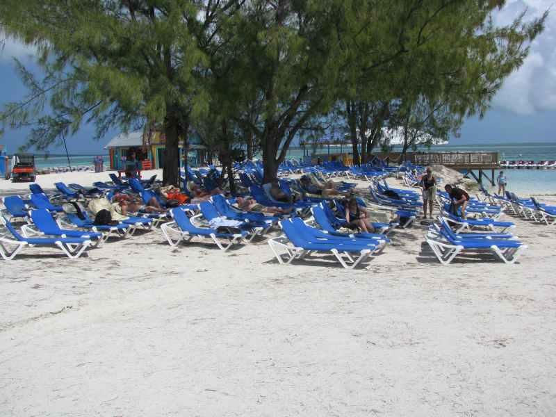 The Beach at Coco Cay, Bahamas