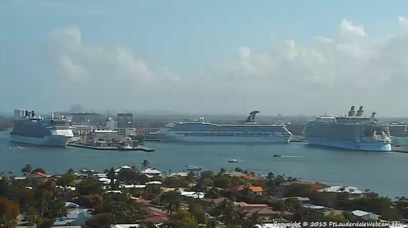 Celebrity Silhouette - Carnival Freedom - Allure of the seas