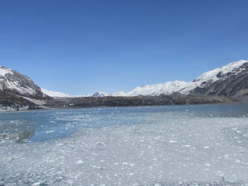 Looking at Grand Pacific Glacier