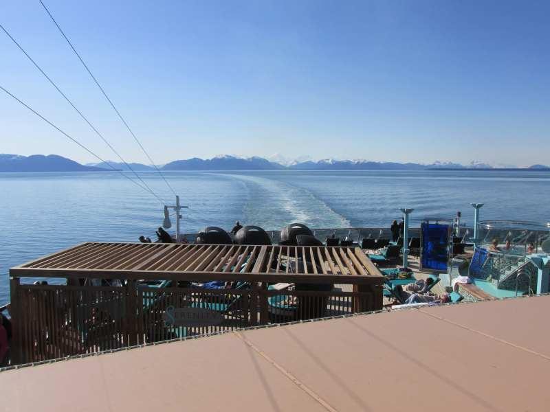 Leaving Glacier Bay
