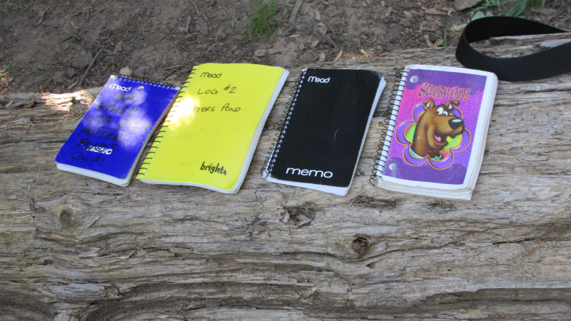 The logbooks right from day 1